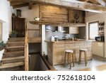Wood Kitchen In Cottage Style