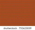 orange knitted background...   Shutterstock . vector #752623039