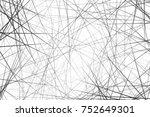 random line texture | Shutterstock . vector #752649301
