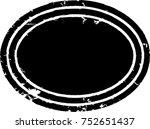 grunge post stamps collection ...   Shutterstock .eps vector #752651437