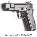 handgun close up isolated on...   Shutterstock . vector #75265675