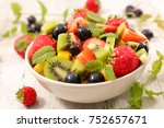 bowl of fruits | Shutterstock . vector #752657671