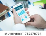 investment fund concept | Shutterstock . vector #752678734