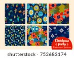 Christmas Seamless Patterns...