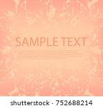 graffiti abstract background... | Shutterstock .eps vector #752688214