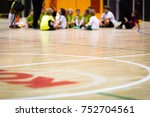 physical education class.... | Shutterstock . vector #752704561