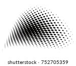 vector halftone backgrounds | Shutterstock .eps vector #752705359