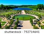 the versailles orangerie ... | Shutterstock . vector #752714641