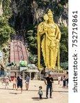 kuala lumpur  malaysia  ...   Shutterstock . vector #752719861