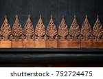 baandam the thai lanna style... | Shutterstock . vector #752724475
