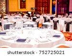 vip party  gala dinner | Shutterstock . vector #752725021