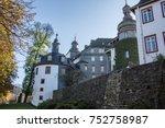 siegen wittgenstein castle in...   Shutterstock . vector #752758987