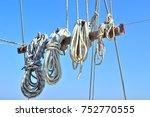 Small photo of sailing equipments... aegean coast turkey...