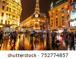 shanghai  china   november 08 ... | Shutterstock . vector #752774857