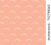 seamless vector pattern with... | Shutterstock .eps vector #752798365