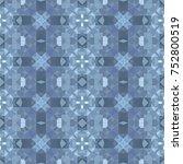 abstract vector modern seamless ... | Shutterstock .eps vector #752800519