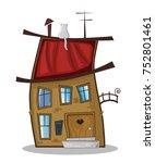 illustration of cute cartoon...   Shutterstock . vector #752801461
