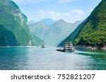 Ships On The Yangtze River ...