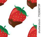 vector background with... | Shutterstock .eps vector #752838739