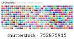432 ui gradient color swatches. ...