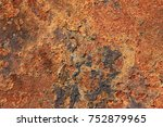 rusted sheet metal | Shutterstock . vector #752879965