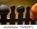 landscape design clay pitchers... | Shutterstock . vector #752900971