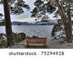 Bench Overlooking Frozen...