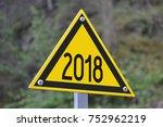 2018   signpost  roadsign | Shutterstock . vector #752962219