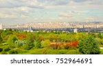 ankara  capital city of turkey... | Shutterstock . vector #752964691