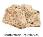 natural specimen of tufa...   Shutterstock . vector #752980921