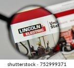 milan  italy   november 1  2017 ... | Shutterstock . vector #752999371