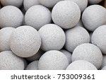 Light Grey Cotton Light Balls...