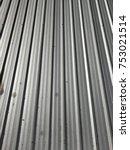 texture steel roof | Shutterstock . vector #753021514