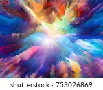 color burst series. abstract... | Shutterstock . vector #753026869