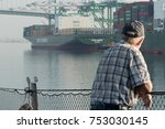 Port Of Los Angeles A Older Ma...