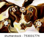 stained glass forever series....   Shutterstock . vector #753031774