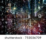 digital city series. creative...   Shutterstock . vector #753036709