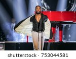 singer tank at the bet presents ... | Shutterstock . vector #753044581