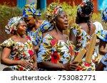 kaschouane  senegal   apr 29 ... | Shutterstock . vector #753082771