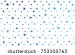 light blue vector abstract...   Shutterstock .eps vector #753103765