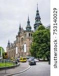 stockholm  sweden   june 21 ... | Shutterstock . vector #753140029
