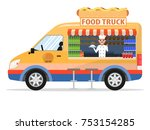 vector illustration of a... | Shutterstock .eps vector #753154285