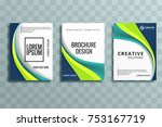 abstract business stationery... | Shutterstock .eps vector #753167719