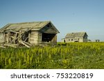the coast of the polar sea ... | Shutterstock . vector #753220819