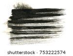 abstract ink background. marble ... | Shutterstock . vector #753222574