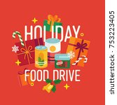 Holiday Food Drive Themed...
