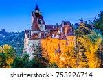 brasov  transylvania. romania.... | Shutterstock . vector #753226714