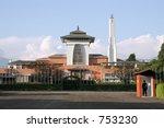 nepal's royal palace | Shutterstock . vector #753230