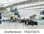 london  uk   circa 2017 ... | Shutterstock . vector #753272671