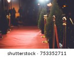 red carpet    is traditionally... | Shutterstock . vector #753352711